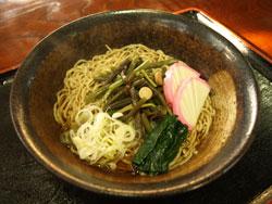 山菜うどん 900円